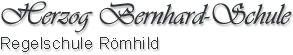 Herzog Bernhard-Schule Römhild